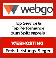 Webhosting Preis Sieger